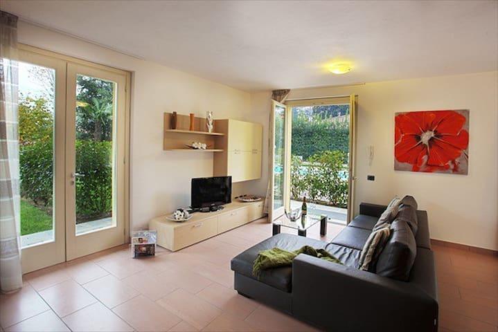 The home enjoys a light and spacious atmosphere