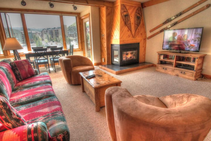 SH404 Timeless Classic Ski Condo. - Copper Mountain - Hus