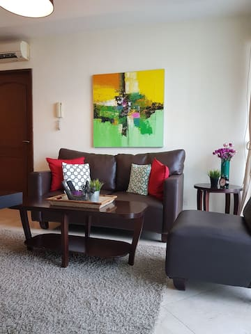 Cozy designer apartment in Mega Kuningan