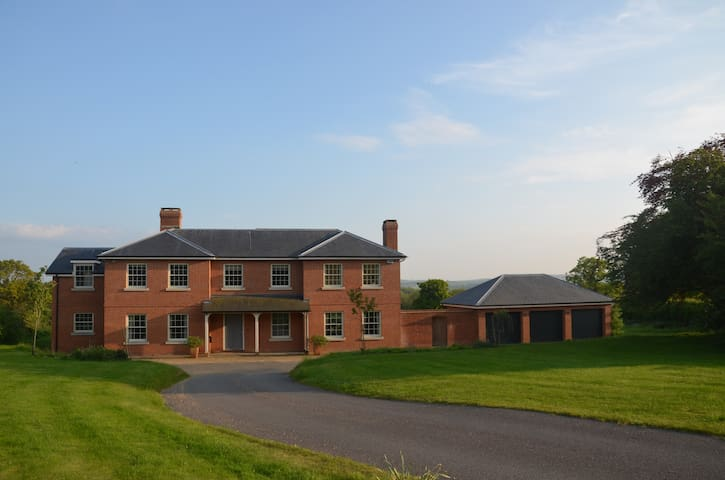 Spacious Country House with Magnificent Views