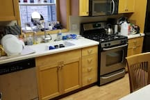 Kitchen: Feel free to use it for simple cooking and keeping things fresh in the refrigerator.
