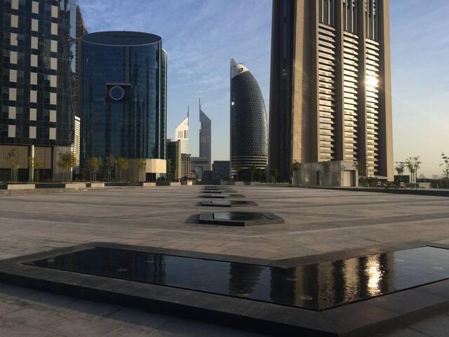 Studio near Down Town with great facilities - Dubai
