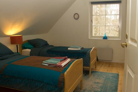Warm & cosy twin room in Fiskars design village
