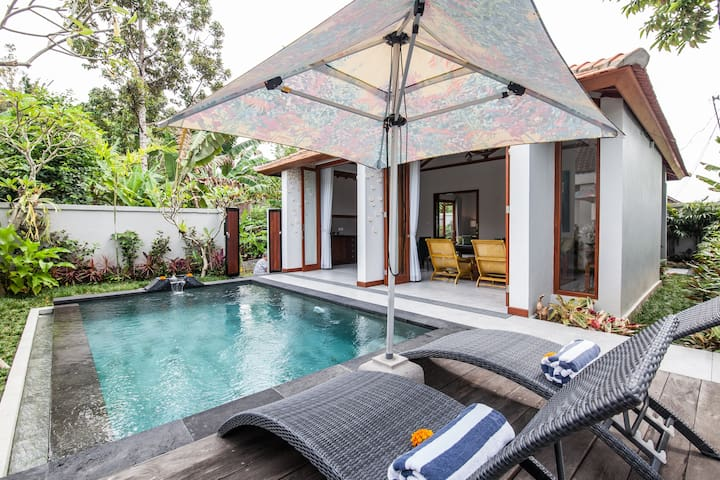 """Badra House  """"Frangipani"""" - Ubud,Gianyar - Huis"""