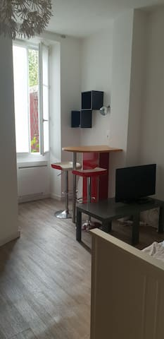 Studio agréable et calme