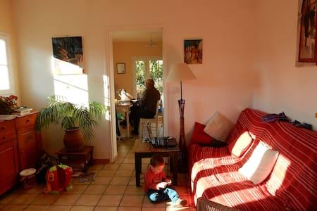 Chambre dans maison avec jardin au calme - Condom