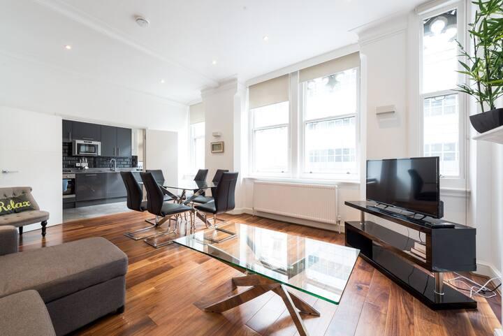 Modern & Trendy Central London Flat (FS1 III)