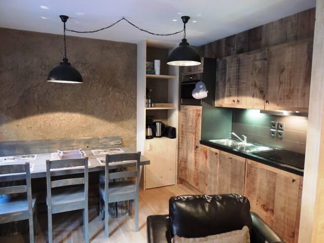 FERM110 : charming T2 cabin in prestigious residence