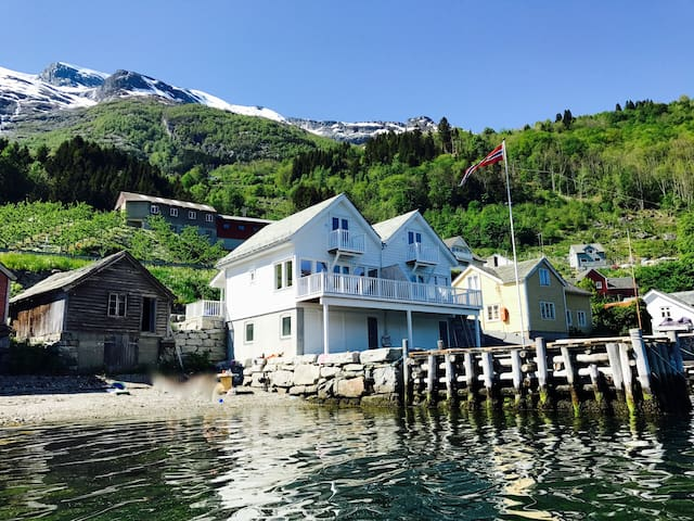 High standard house by the fjord - south