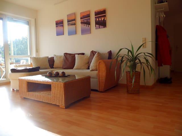 Ruhiges 2-Zimmer Apartment Nähe Autobahn