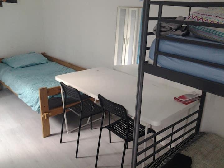 hostel kamer in het centrum van den haag.2