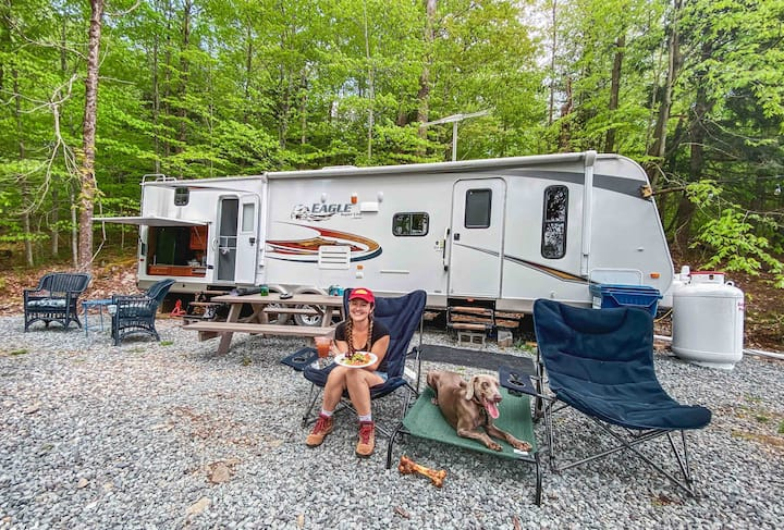 Adventure in the woods-Pet Friendly no fees-WiFi