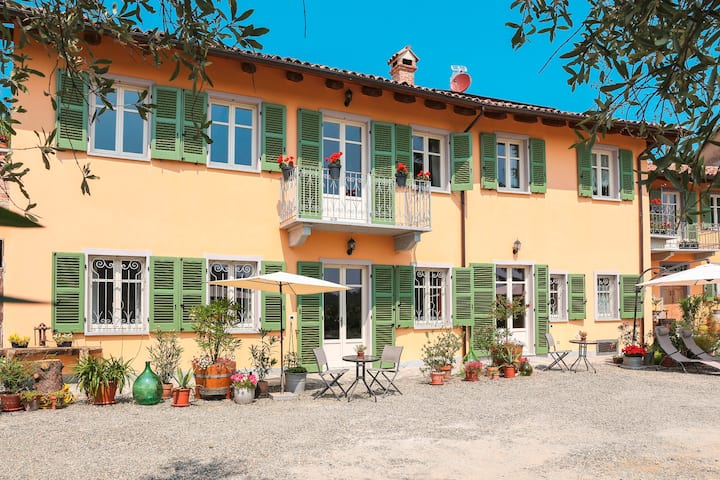 """Apartment """"Cortile"""", 2-4 Pers, barrier-free, 70m²"""