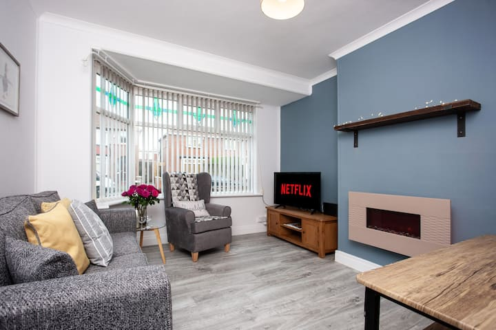 Keithlands House Norton 4 double rooms WorkstaysUK
