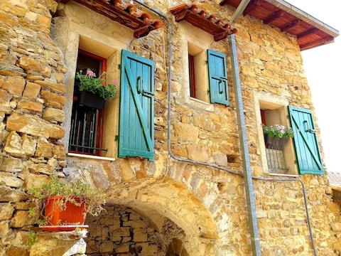 Apricale, één van de mooiste dorpen van Italië.