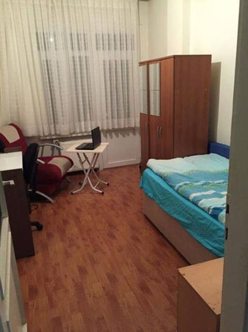 The room is customizable one of our hosts reorganized it this way