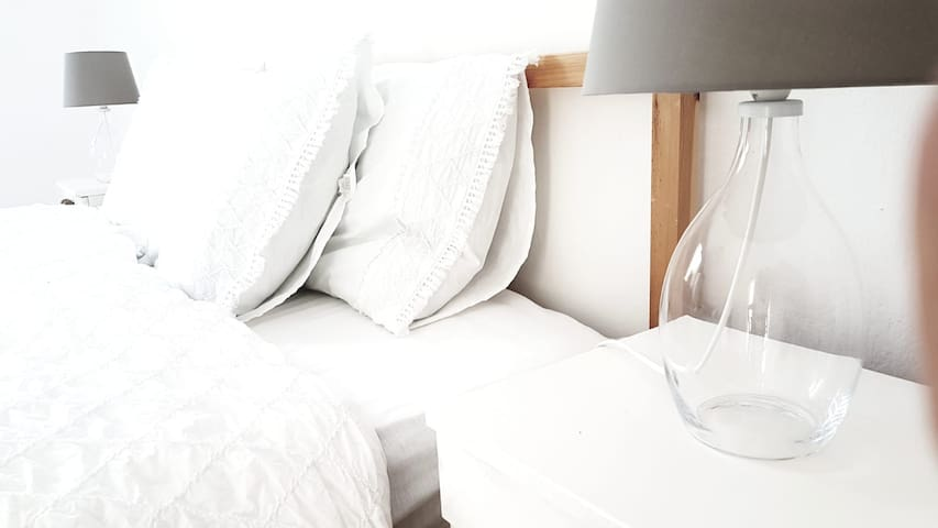 White. Clean & Cosy. Room II