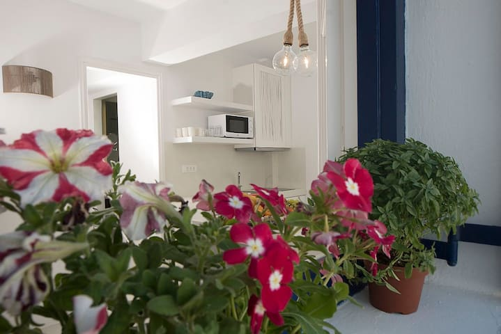 """""""Hyades"""" Mykonian Style Apartment in Mykonos Town"""