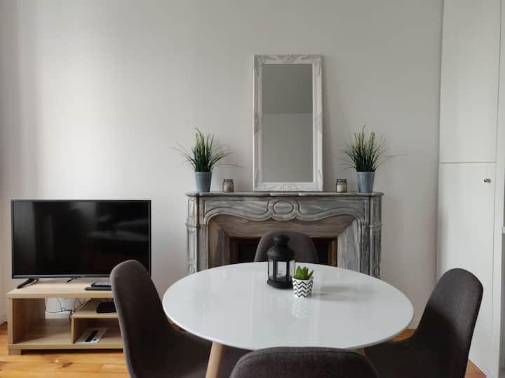 Appartement T2 de charme situé en Coeur de Ville