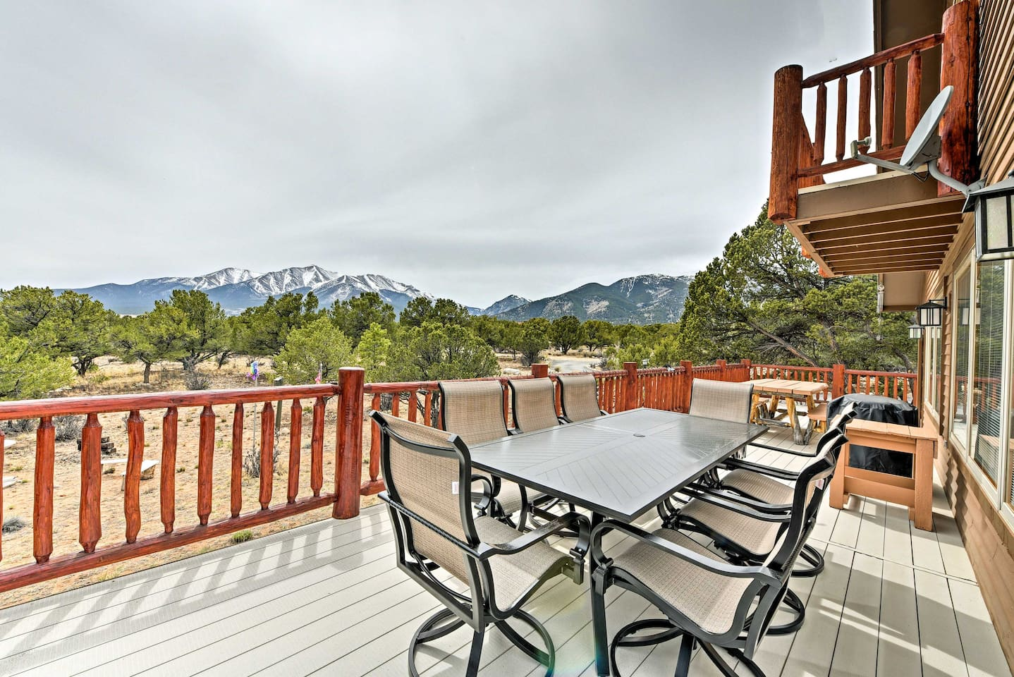 Experience the beauty of Buena Vista from this 2-acre vacation rental property!