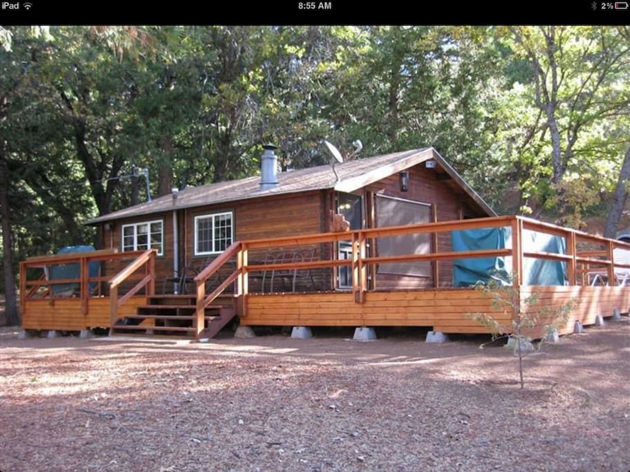 Camp Nelson Cozy Log Cabin Cabins For Rent In