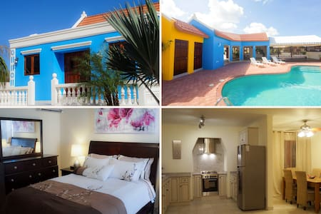 Blue Cunucu Villa with pool 3B/2B - Oranjestad