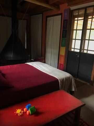 Dormitorio 3 AC privado toilete en suite