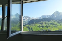 Blick auf Säntis, Alpstein