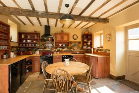 The Granary Cottage @ Bromwich Park Farm, Oswestry - Aston - Rumah
