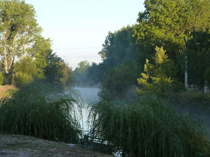 Gîte de pêche dans le Marais Poitevin