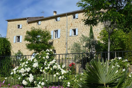 Le Mas des Monèdes - Chambres d'hôtes de charme  1 - Saint-Paul-le-Jeune - Oda + Kahvaltı