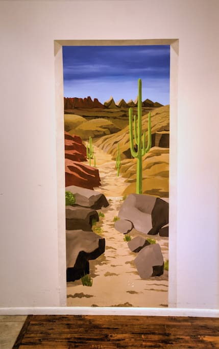 Entry Way mural