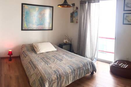 Habitación con baño privado a 3 calles de Condesa - 墨西哥城(Ciudad de México) - 公寓