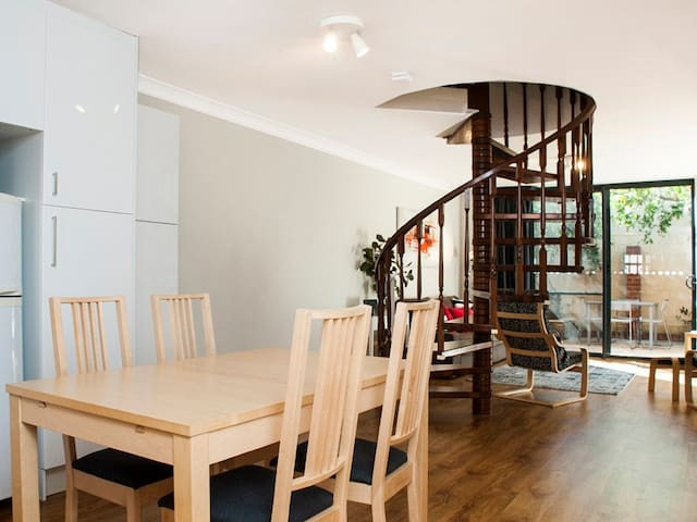 Subiaco Townhouse - style and convenience.
