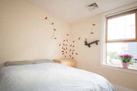 Butterflies in Bamboo quiet room - Apartment