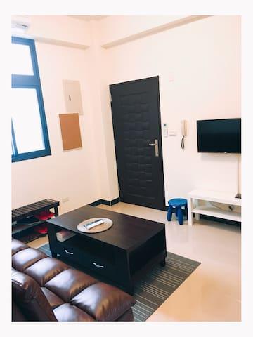 「一間房間」-  溫馨家庭式套房 - 金門縣金城鎮 - Appartement