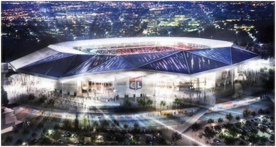 EURO 2016 LYON Stade des lumières, appart moderne - Meyzieu - Flat