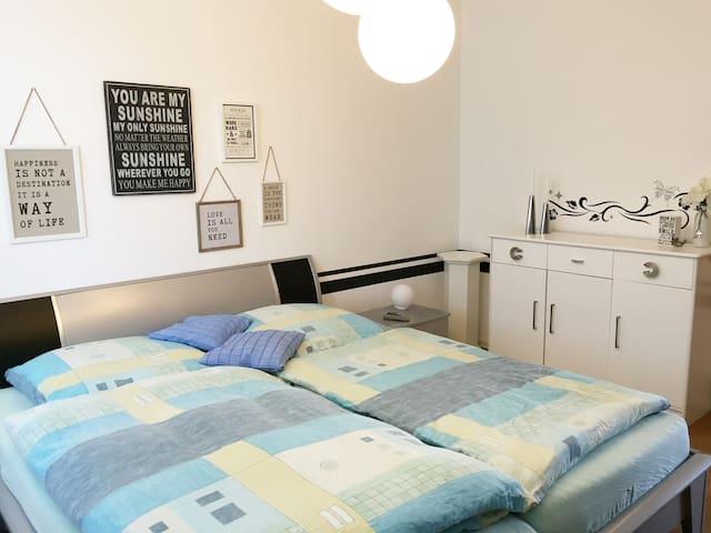 Gemütliche 2-Raumwohnung für max. 4 Personen - Jena - Apartamento