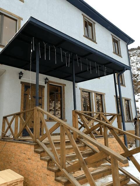 Хостел Burka рядом с г. Эльбрус в пос. Байдаево