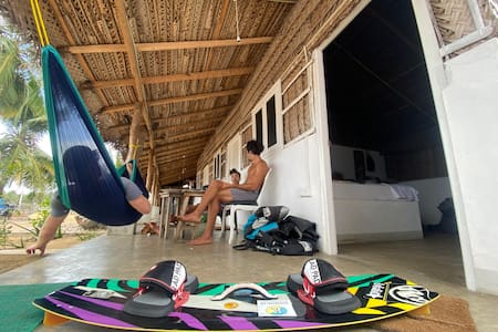 Kalpitiya King Bed Room Cabana 2px Kitesurfing