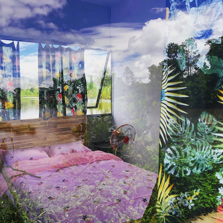 BIEN RUNG-PINK ROOM homestay Dak Glong-Dak Nong