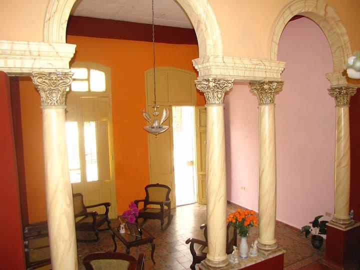 San Luis House in Historic Centre of Cienfuegos.