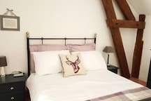Chambre 2 personnes (140) gite 3 chambres / Double bed 2 bed gite