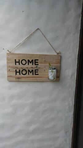 Entrance sign art