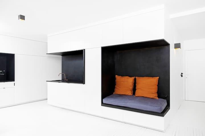 Modern design loft tout équipé 50m² à Clamart/Issy