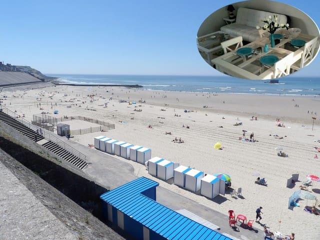 Schérie maison de pêcheur plage à 50m au coin rue - Le Portel - Casa