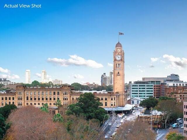 Sydney Central Railway Station 5 mins walk to