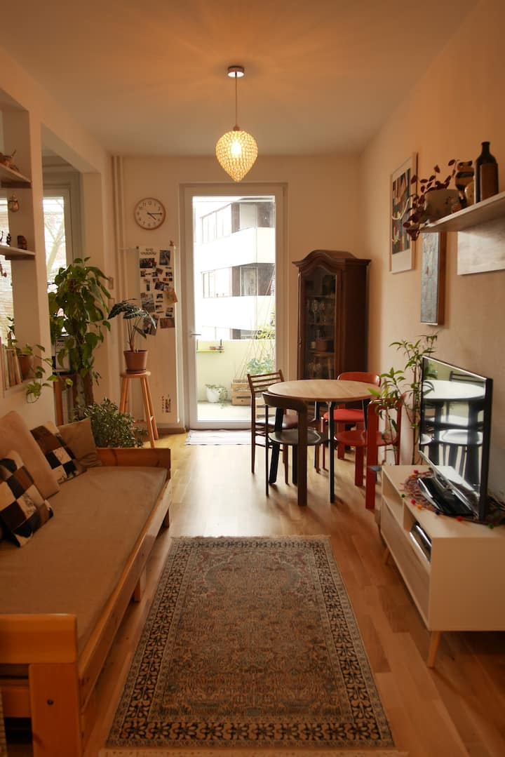 Beautiful apartment with 2 balconies 2 bedrooms