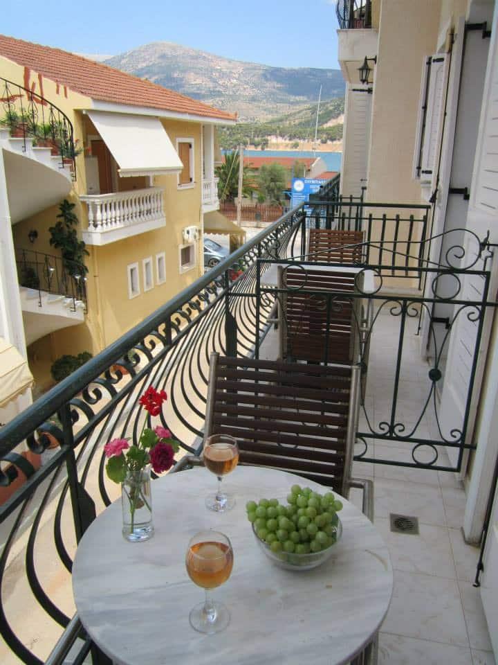 Water front studios in the heart of Argostoli