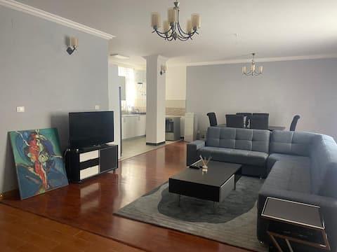 Entire Apartment (2 Bed + 2 Bath) In Central Bole.